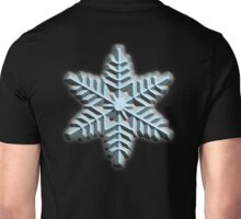 ICE, SNOWFLAKE, Cool, Snow, Snow crystals, Winter, Cold, Ice Crystal, Frozen, Freeze Unisex T-Shirt