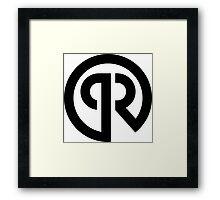 Porter Robinson Logo Framed Print