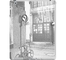 going down the alley, coming up soon iPad Case/Skin