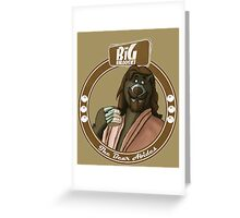 The Bear Abides Greeting Card