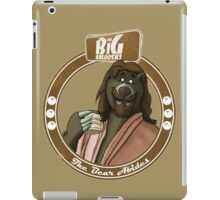 The Bear Abides iPad Case/Skin