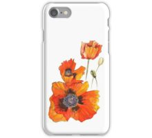 A party of poppies iPhone Case/Skin