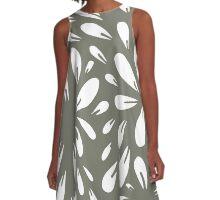 blossom (gray) A-Line Dress