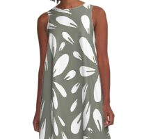 blossom (gray) A-Line Dress