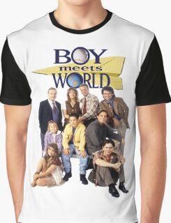 Boy Meets World Cast Graphic T-Shirt