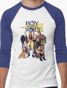 Boy Meets World Cast Men's Baseball ¾ T-Shirt