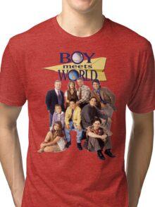 Boy Meets World Cast Tri-blend T-Shirt