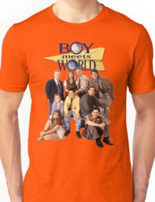 Boy Meets World Cast Unisex T-Shirt