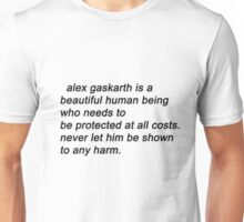 Alex Gaskarth Unisex T-Shirt