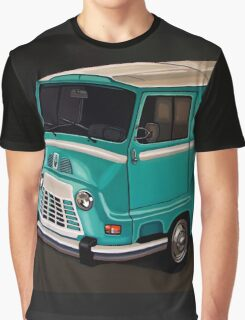 Renault Estafette Painting Graphic T-Shirt