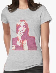Tom Petty Womens Fitted T-Shirt