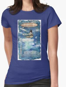 Lullaby ( song of the Universe ) Womens Fitted T-Shirt