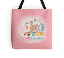 Welcome to the Republic of Ice Creams Tote Bag