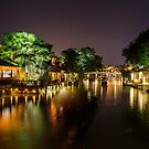 Wuhzen historic Chinese water town by SteveHphotos