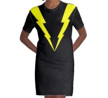 Lightning V Graphic T-Shirt Dress