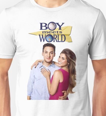 Cory and Topanga - Boy meets world couple goals Unisex T-Shirt