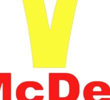 McDeath Sticker