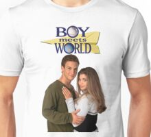 Cory and Topanga Couple Goals Boy Meets World Unisex T-Shirt
