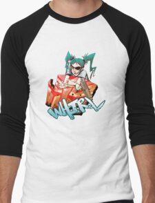Holoform Whirl Men's Baseball ¾ T-Shirt