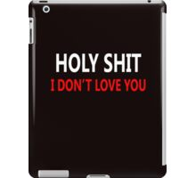 Cool love and relationship Expression iPad Case/Skin