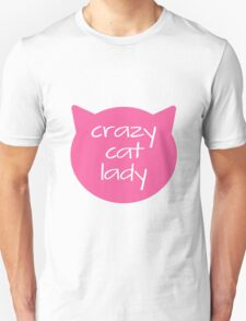 crazy cat lady Unisex T-Shirt