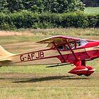 Foster Wikner Wicko G.M.1 G-AFJB landing by Colin Smedley
