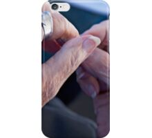 Silver Touch iPhone Case/Skin