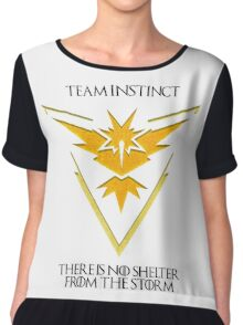 Team Instinct Design - Pokemon GO Chiffon Top
