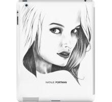 Natalie Portman Illustration iPad Case/Skin