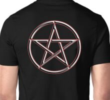 WICCA, Witch, Wizard, Pentacle, modern Pagan, Witchcraft, religion. on BLACK Unisex T-Shirt