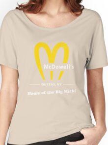 McDowells T-Shirt Women's Relaxed Fit T-Shirt