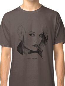Natalie Portman Illustration Classic T-Shirt