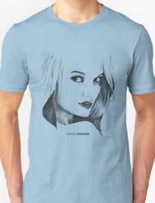 Natalie Portman Illustration Unisex T-Shirt