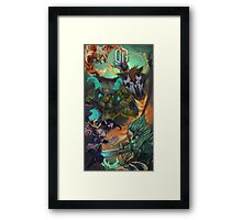 DOTA 2 Team OG Manila Major Champions! Framed Print