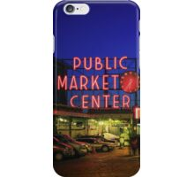 Pike Place Market iPhone Case/Skin