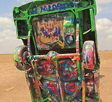 Graffiti Cadillac by Andrew Felton