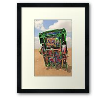Graffiti Cadillac Framed Print