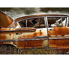 Abandoned 1958 Chevy Biscayne Photographic Print