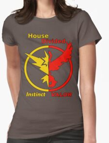 House Divided Instinct vs. Valor Womens Fitted T-Shirt