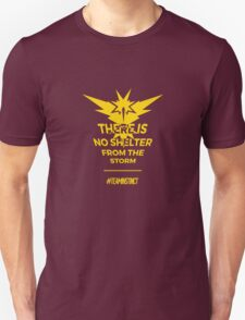 Team Instinct Pokemon Go Motto Unisex T-Shirt