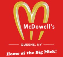 McDowells Restaurant Queens Big Mick T-Shirt One Piece - Short Sleeve