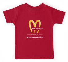 McDowells Restaurant Queens Big Mick T-Shirt Kids Tee