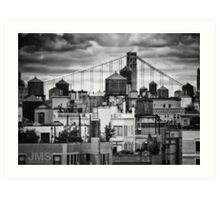 Water Towers of the Upper West Art Print