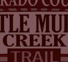 Little Muddy Creek Colorado offroad Jeep trail Sticker