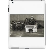 Camera's- from past to present iPad Case/Skin