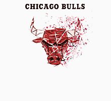 Chicago Bulls With Splatter Effect Unisex T-Shirt