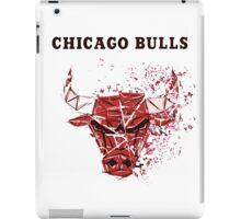 Chicago Bulls With Splatter Effect iPad Case/Skin