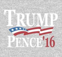 Trump Pence 2016 One Piece - Long Sleeve