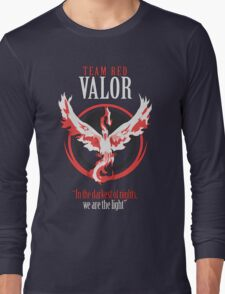 Team Valor Pokèmon GO! Long Sleeve T-Shirt