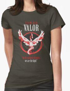 Team Valor Pokèmon GO! Womens Fitted T-Shirt